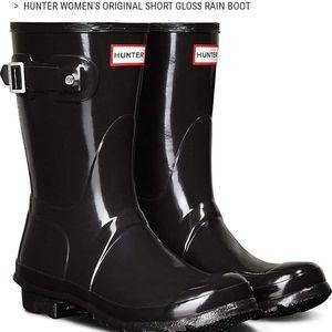 Hunter Boots Short Gloss